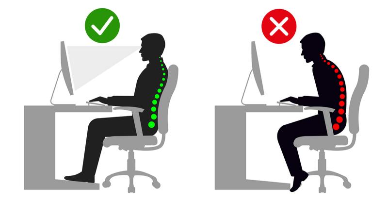 6 ergonomicznych wskazówek dotyczących pracy biurowej